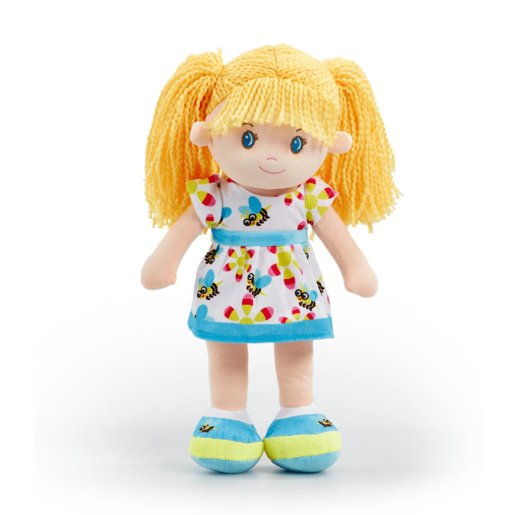 Snuggle Buddies 40cm Rag Doll - Blue