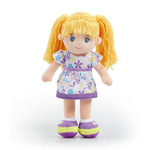 Snuggle Buddies 40cm Rag Doll - Purple