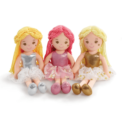 Snuggle Buddies 35cm Fairy Rag Doll (Styles Vary - One Supplied)