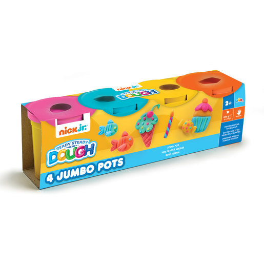 Nick Jr. Ready Steady Dough 4 Jumbo Pots