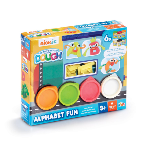 Nick Jr. Ready Steady Dough Alphabet Fun