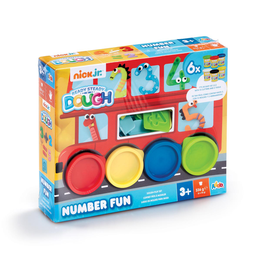 Nick Jr. Ready Steady Dough Number Fun