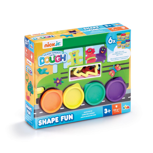 Nick Jr. Ready Steady Dough Shape Fun