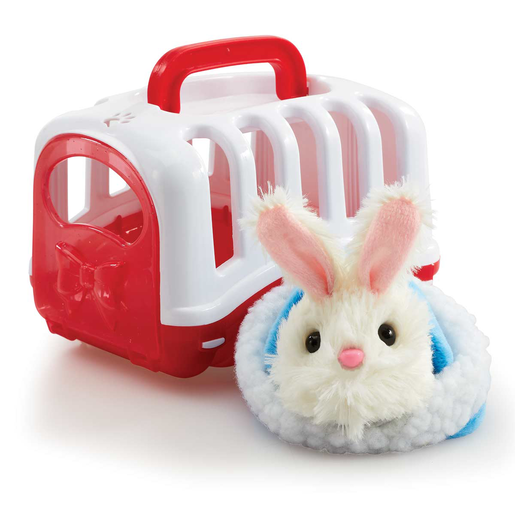 Pitter Patter Pets Carry Around Bunny - White