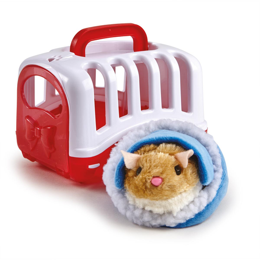 Pitter Patter Pets Carry Around Hamster - Brown