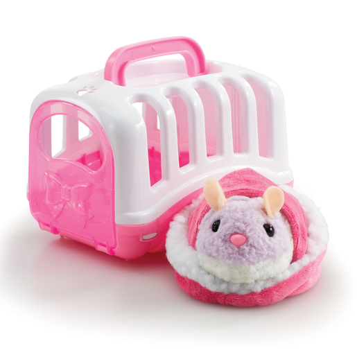 Pitter Patter Pets Carry Around Hamster - Pink