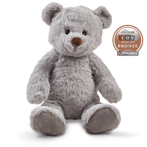 Snuggle Buddies Friendship Teddy - Grey