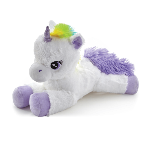 Snuggle Buddies Laying Unicorn - Purple