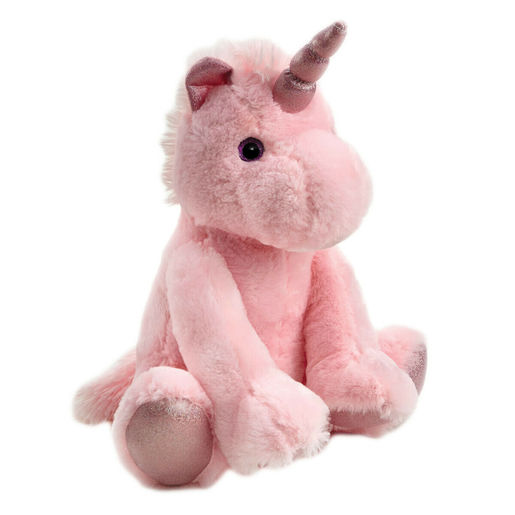 Snuggle Buddies 35cm Unicorn Plush Toy - Candy