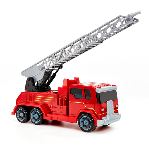 Friction Lights and Sounds Fire Truck