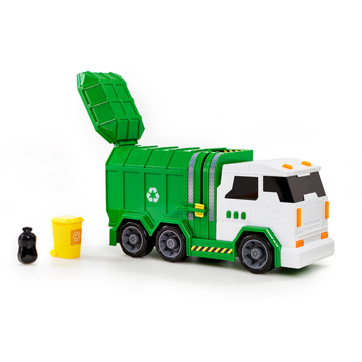Friction Lights and Sounds Garbage Truck