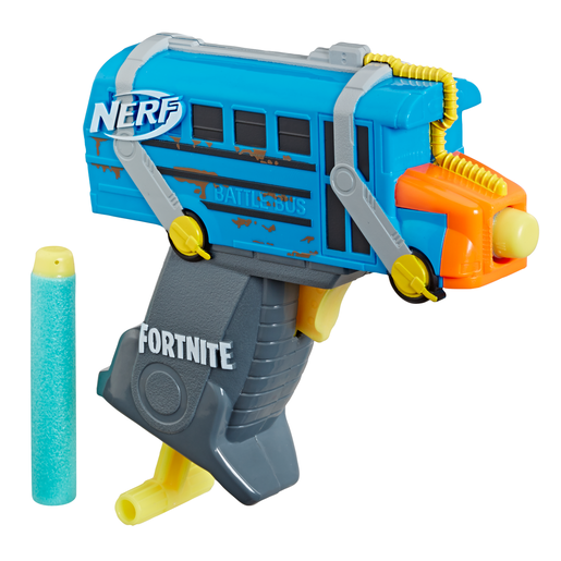 Fortnite Nerf Micro Shots - Micro Battle Bus