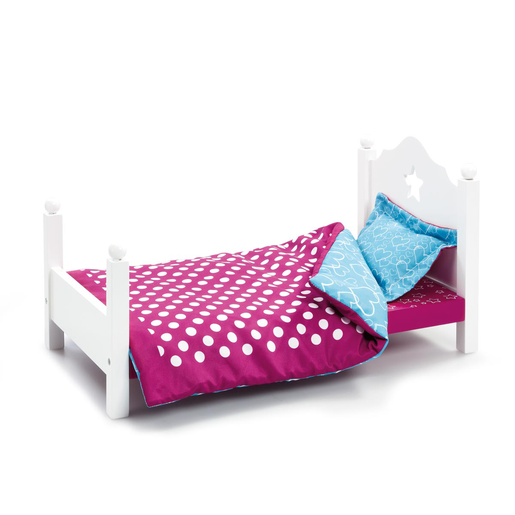 B Friends Wooden Bed