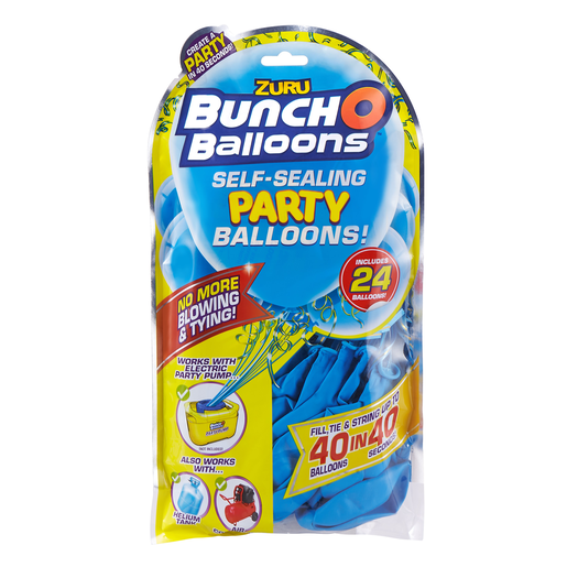 Bunch O Balloons Party Balloons Refill - 24 Balloons