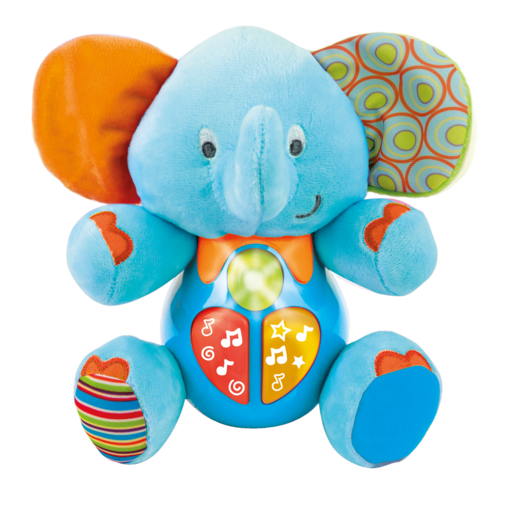WinFun Sing 'N Learn Elephant - Blue