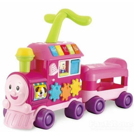 WinFun Walker Ride-On Learning Train - Pink