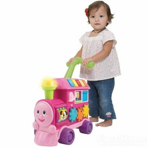 WinFun Walker Ride-On Learning Train - Pink from TheToyShop