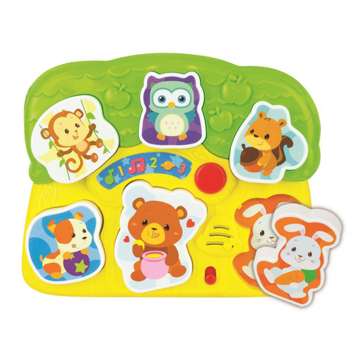 WinFun Light 'N Sounds Animal Puzzle