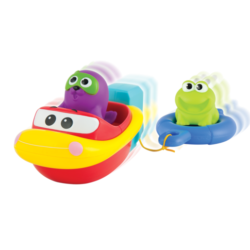 WinFun Pull and Go Boat Set