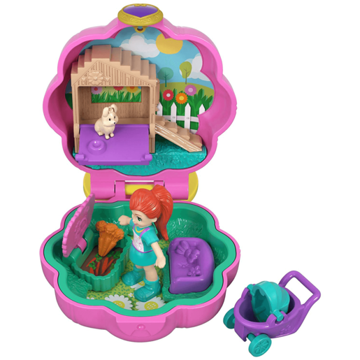 Polly Pocket Tiny Pocket Places Bunny Playset