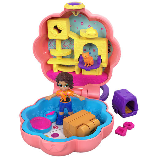Polly Pocket Purrfect Playhouse