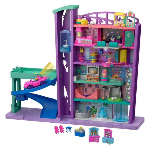 Polly Pocket Pollyville Mega Mall