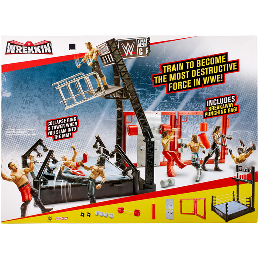WWE Wrekkin Performance Centre Playset