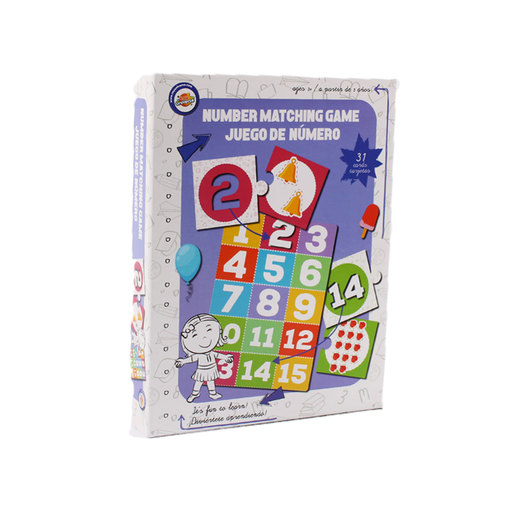 Number Matching Game from TheToyShop