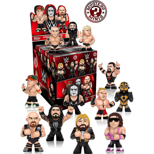 Funko Mystery Minis - WWE (One figure supplied)