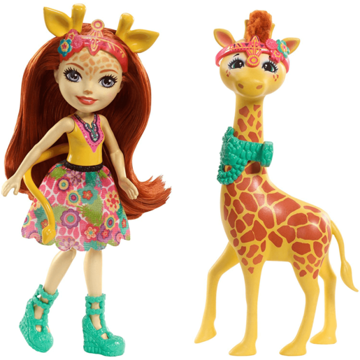 Enchantimals Gillian Giraffe Doll and Figure