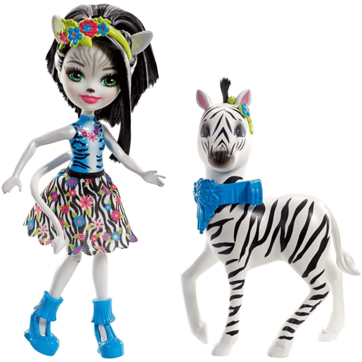 Enchantimals Zelena Zebra Doll and Figure