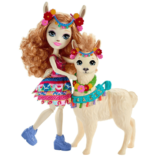 Enchantimals Lluella Llama Doll and Figure