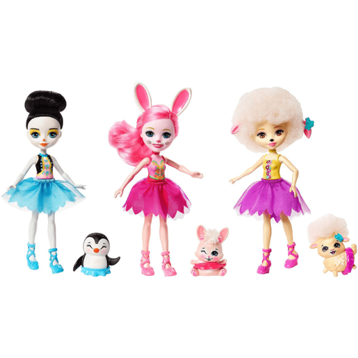 Enchantimals Ballet Cuties 3Pack Dolls