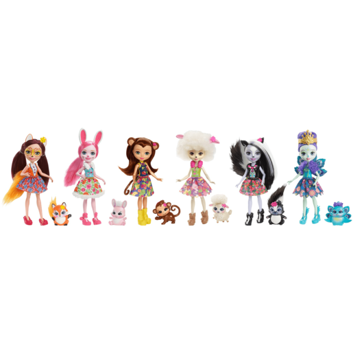 Enchantimals Friendship Collection Dolls (6-Pack)