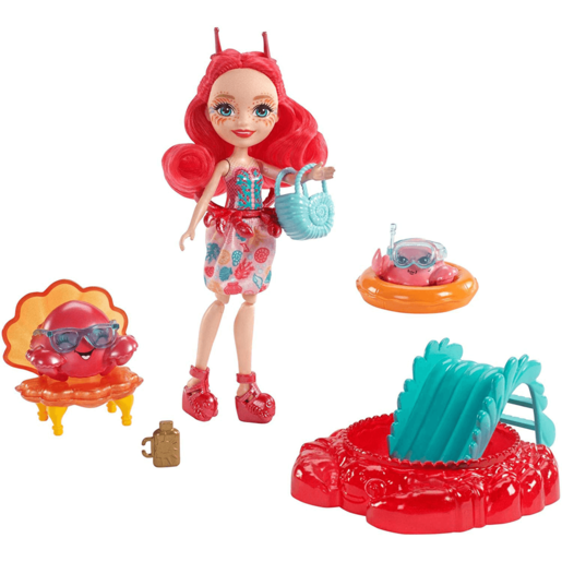 Enchantimals Aquatic World Playset - Cameo Crab Chela and Courtney