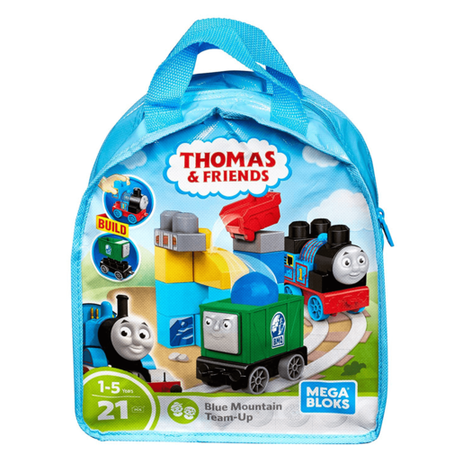 Mega Bloks Thomas and Friend s- Blue Mountain Team-Up