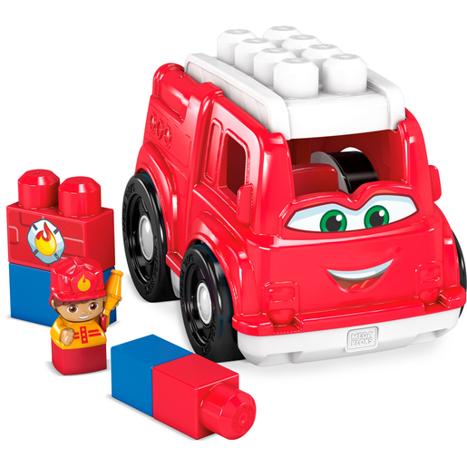 Mega Bloks First Builders Lil Vehicles - Freddy Firetruck