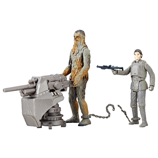 Star Wars Force Link - Chewbacca and Han Solo