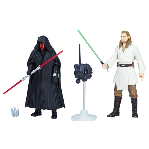Star Wars Force Link - Darth Maul and Qui-Gon Jinn