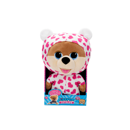 Cutelife Jiffpom Pyjama Party Plush Soft Toy