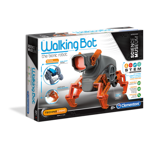 Clementoni Science Museum - Walking Bot