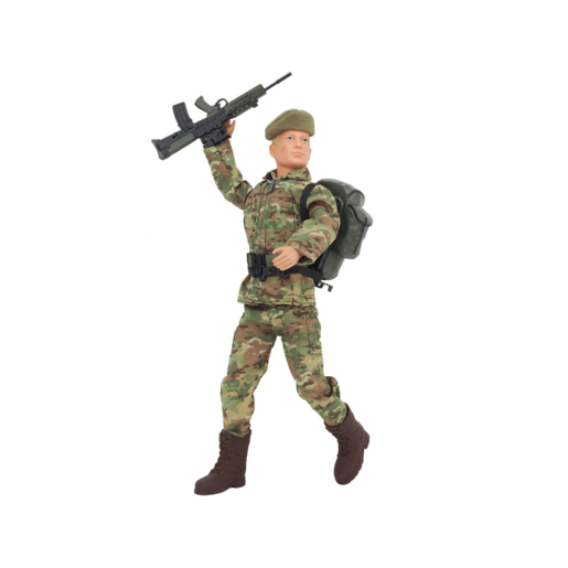 Action Man - Soldier Deluxe Action 30cm Figure