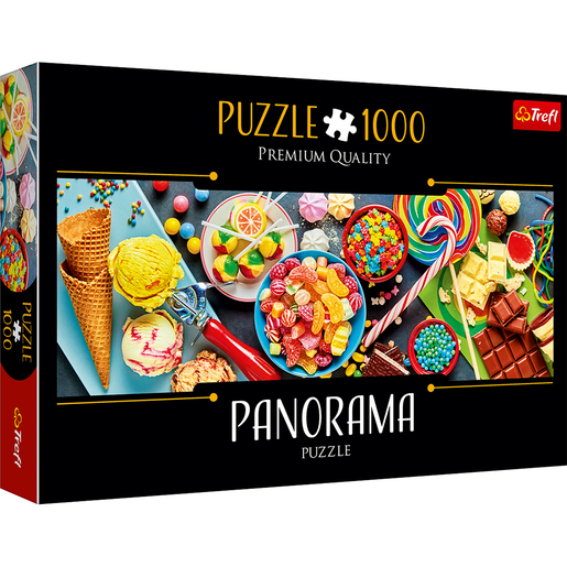 Trefl Panorama 1000 Piece Puzzle - Sweet Delights