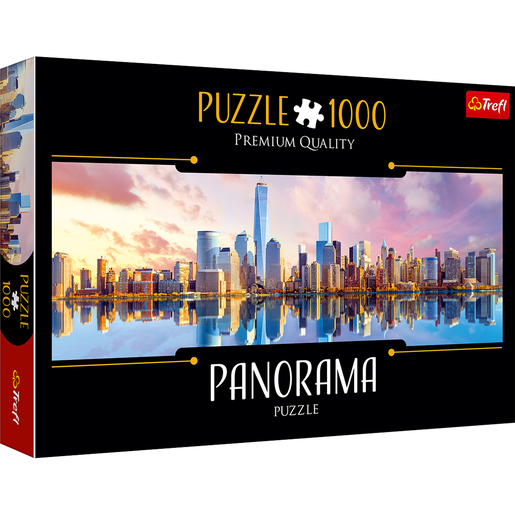 Trefl Panorama 1000 Piece Puzzle - Manhatten