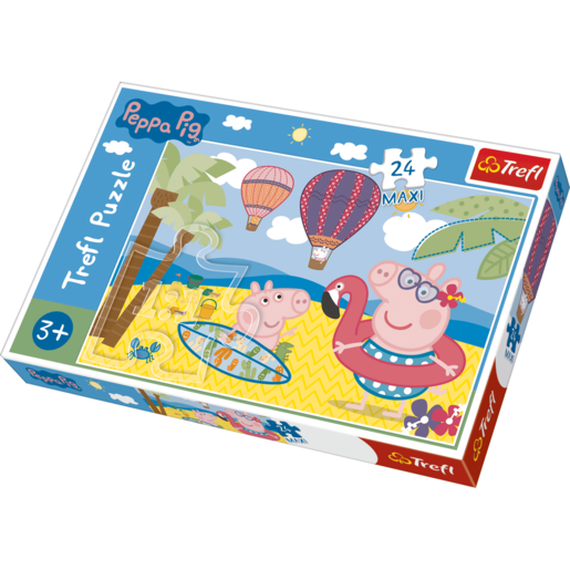 Trefl Peppa Pig Peppa's  Holidays - Maxi 24 Pieces Puzzle