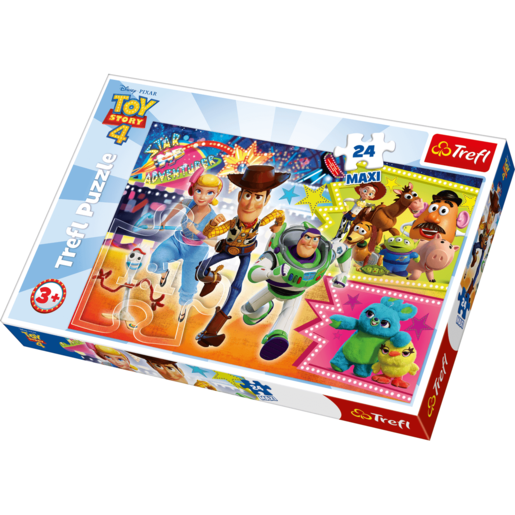 Trefl Disney Pixar Toy Story 4 Puzzle - 24 Maxi Pieces from TheToyShop