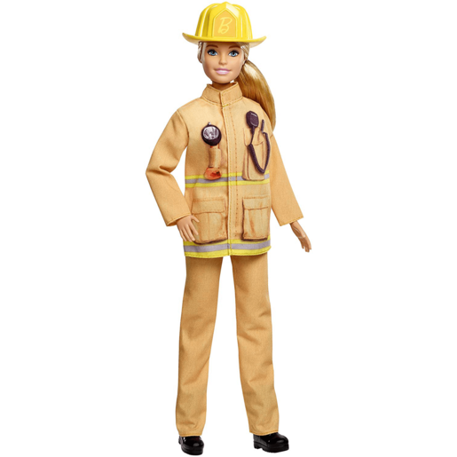 Barbie Career 60th Anniversary Doll - I Can Be a Firefighter