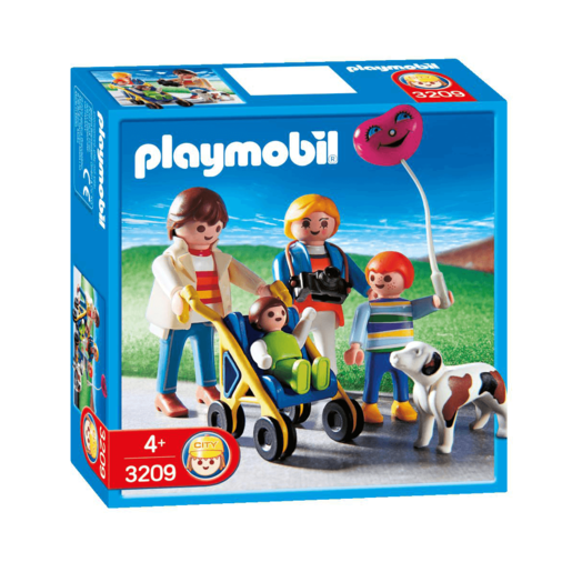 Playmobil Family with Stroller - 3209