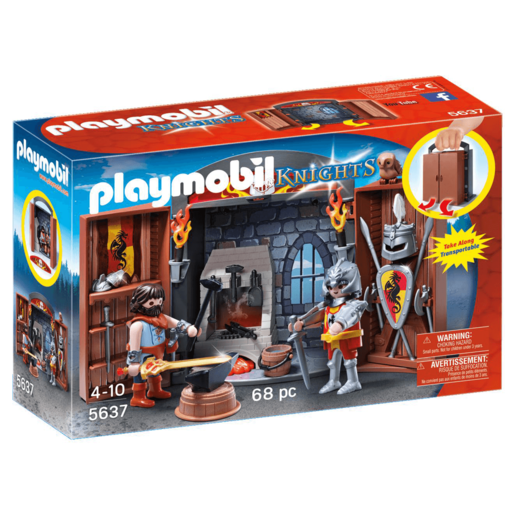 Playmobil Knights' Armoury Play Box - 5637