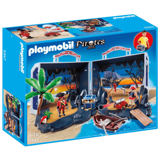 Playmobil Pirates Take Along Pirates Chest - 5347